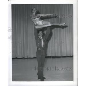 1972 Press Photo Margot and Danne France - RRQ03693