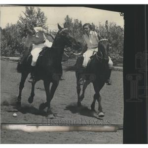 1929 Press Photo Polo horseback team sport - RRQ04113
