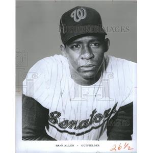 Press Photo Press Hank Allen Outfielder Milwaukee Brewers - RRQ04237