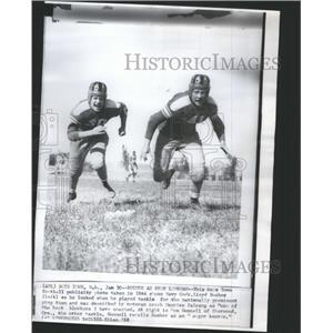 1968 Press Photo football publicity Lloyd Bucher - RRQ04347
