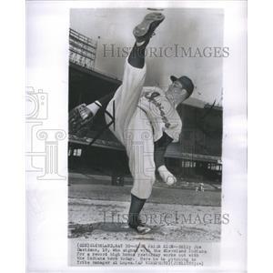 1951 Press Photo Davidson Indians Baseball Pitcher - RRQ04879