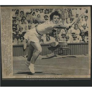 1969 Press Photo Billie Jean King Long Beach - RRQ05581