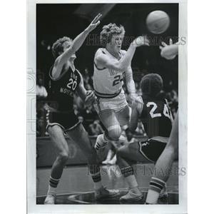 1976 Press Photo Eric Hovey Denver Nuggets - RRQ07975