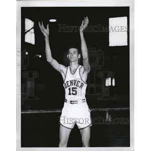 Press Photo Circa 1950 University Denver Spike Jeffery - RRQ07979
