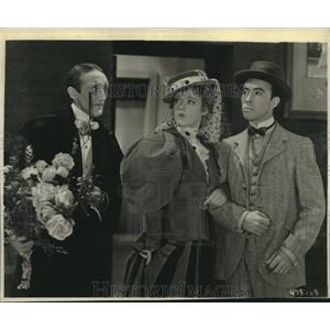 1930 Press Photo Claud Allister, Marion Davies, Robert Bolder The Florodora Girl