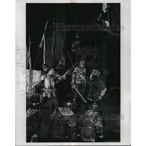 1965 Press Photo Lee Richardson and Hume Cronyn star in Richard III. - mjp11349
