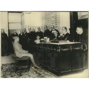 1926 Press Photo The Infanta Gonzalo of Spain takes his public examinations