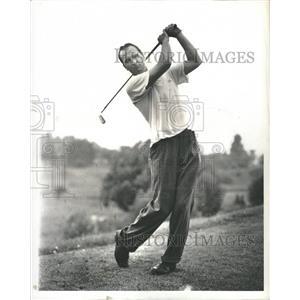 1941 Press Photo Ronald Williams Golfer - RRQ18225