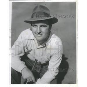1941 Press Photo Ronnie Williams Golf - RRQ18229