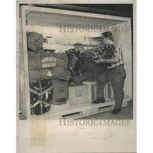 1969 Press Photo Denver Spurs Hockey Player - RRQ21447