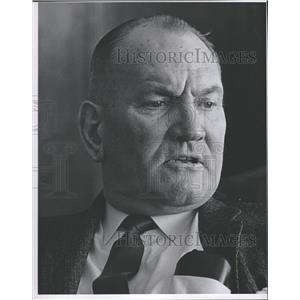 1961 Press Photo Eddie Glennon Denver Bears Manager - RRQ21595