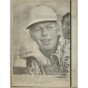 1973 Press Photo John Schleeh Dallas Kaiser Internation - RRQ22087