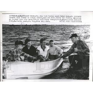 1958 Press Photo Ralph Houk Coach New York Yankees - RRQ23041