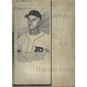 1969 Press Photo Detroit Tigers Fire Pitching Coach - RRQ35573