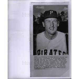 1963 Press Photo Vernon Law Baseball player pitcher