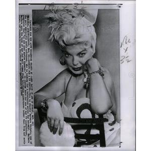 1959 Press Photo Barbara Nichols merican actress