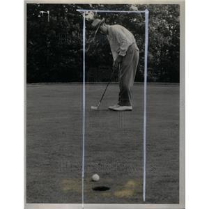 1941 Press Photo Willie Turnesa Golfer