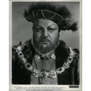 1962 Press Photo Akim Tamiroff Hollywood Actor.
