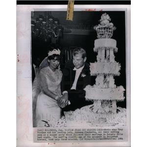 1964 Press Photo Suzanne Pleshette Troy Donahue actors