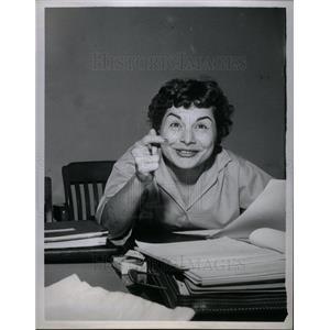 1958 Press Photo Teresa Merlo