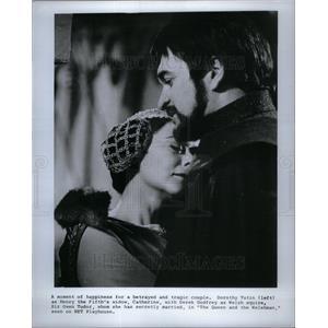1969 Press Photo Dorothy Tutin plays Henry widow secret