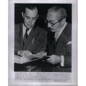 1947 Press Photo Adolphe Menjou hollywood actor Robert