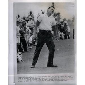 1966 Press Photo Jay Dolan Second Place Doral Open