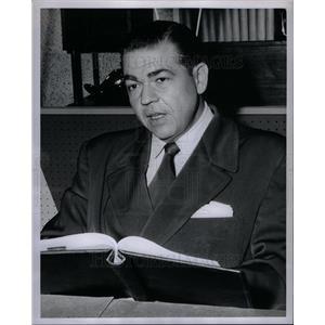 1956 Press Photo Arthur Darner Michael Anthony