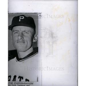 1960 Press Photo VERNON FAW New York Yankees