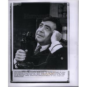 1960 Press Photo Tom Bosley actor Fiorello Pulitzer