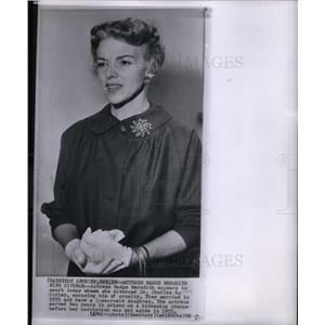 1958 Press Photo Madge Meredith actress Marjorie Massow