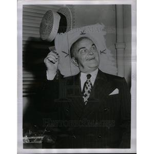 1951 Press Photo Victor Frederick Moore