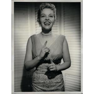 1956 Press Photo Jaye P Morgan