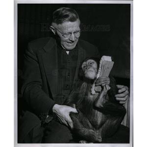 1946 Press Photo Ted Schroeder