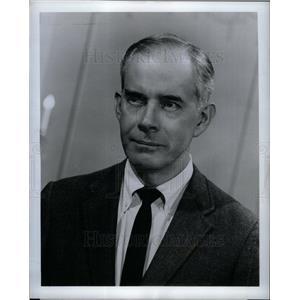 1968 Press Photo Harry Morgan Bill Gannon Dragnet