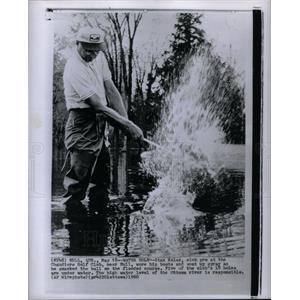 1960 Press Photo Stan Kolar, Chaudiere Golf Club
