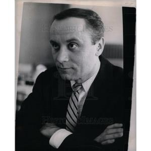 1962 Press Photo William Shust Actor Theatre