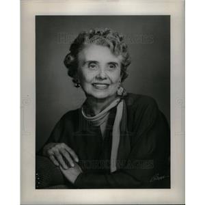 1952 Press Photo TERESA WAY MERRILL