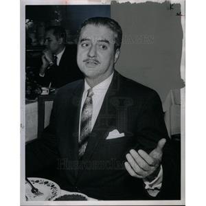 1962 Press Photo Robert C. Schnitzer American Actor