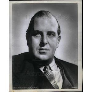 1964 Press Photo Robert Adolph Wilton Morley Actor
