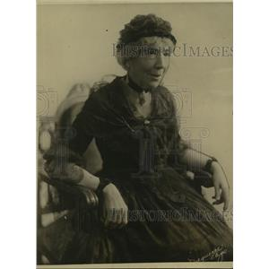1922 Press Photo Grand old lady of stage Mrs Thomas Whiffen dies at age 91