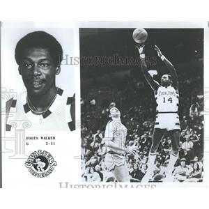 """1978 Press Photo Clarence """"Foots"""" Walker Cavaliers - RRQ39003"""