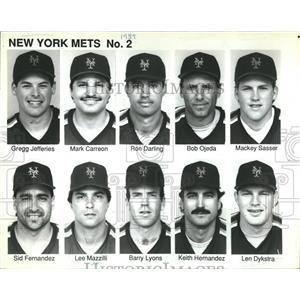 1989 Press Photo 1989 New York Mets - RRQ50211