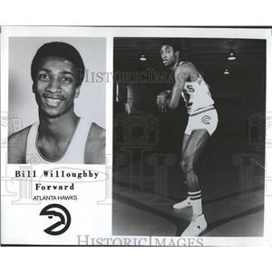 1979 Press Photo Hawk Atlanta Forward Bill - RRQ60079