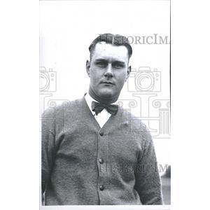1923 Press Photo T Worden Hunter. Golf - RRQ15791