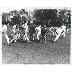 1968 Press Photo Football Bears Minnesota Vikings - RRQ13199
