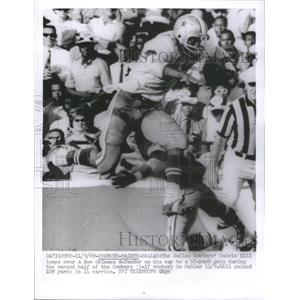 1969 Press Photo Dallas Cowboys Calvin Hill leaps New O - RRQ67079