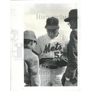1971 Press Photo Joe Pignatano Catcher New York Mets - RRQ72869