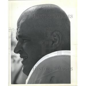 1973 Press Photo Denver Broncos George Goeddeke - RRQ12509