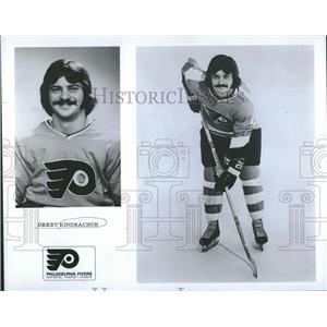 1973 Press Photo Orest Kindrachuk Washington Capitals - RRQ13747
